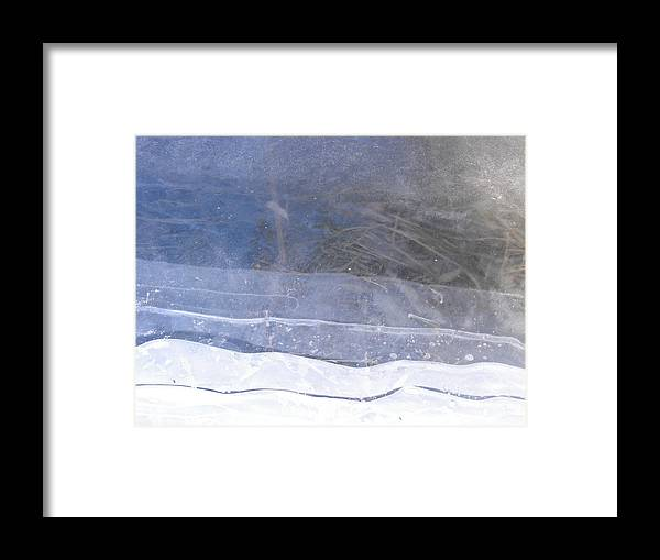 Landscape Framed Print featuring the photograph Seams Spring by john Kuti