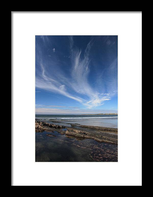 Seascape Framed Print featuring the photograph Seascape Ireland by Pierre Leclerc Photography