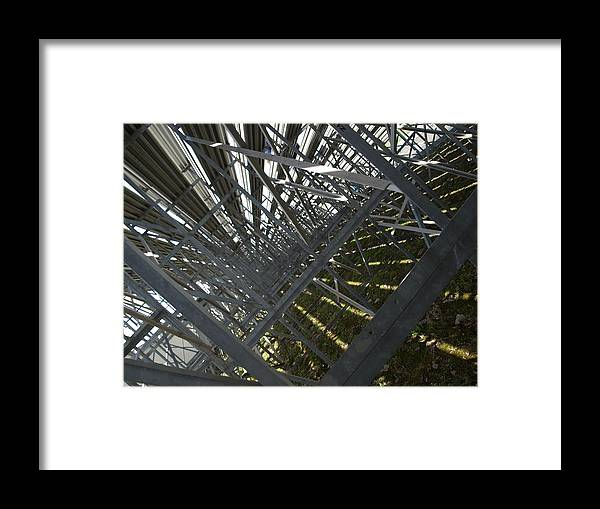 Abstract Framed Print featuring the photograph Seating Room by Jason Bellantoni