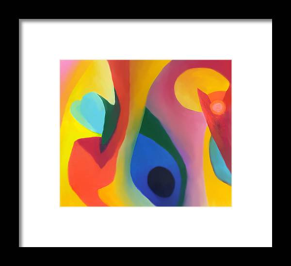 Pastel Framed Print featuring the drawing Second Chance by Peter Shor
