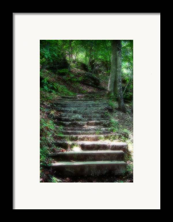 Stairs Framed Print featuring the photograph Second Ethereality by Carl Perry