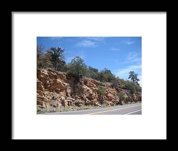 Rocks Framed Print featuring the photograph Sedona Rocks by Jeanette Oberholtzer