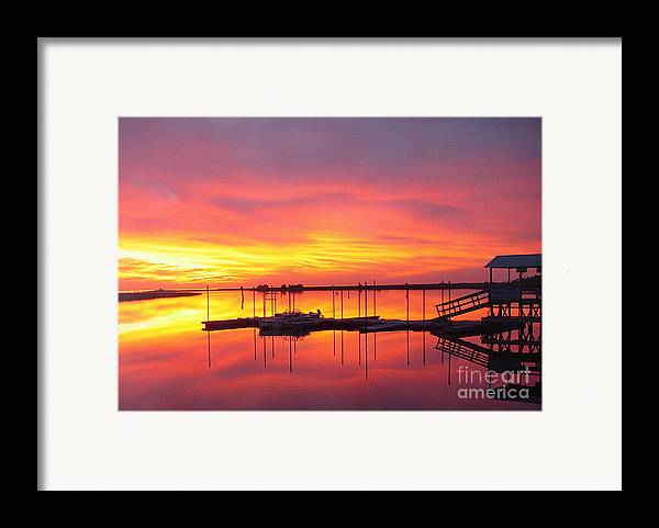 Sunsets Framed Print featuring the photograph Seeing Is Believing by Debbie May
