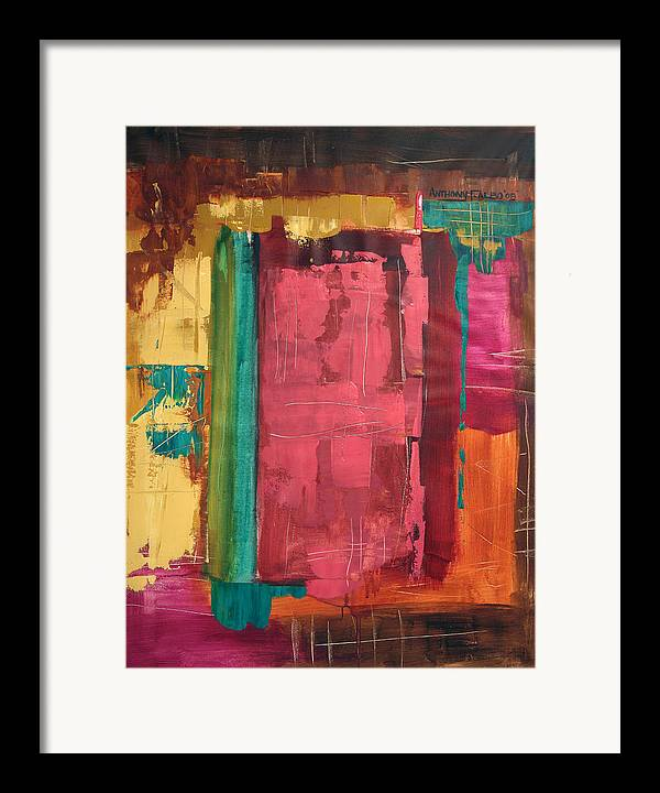 Seek And You Shall Find Framed Print featuring the painting Seek And You Shall Find by Anthony Falbo