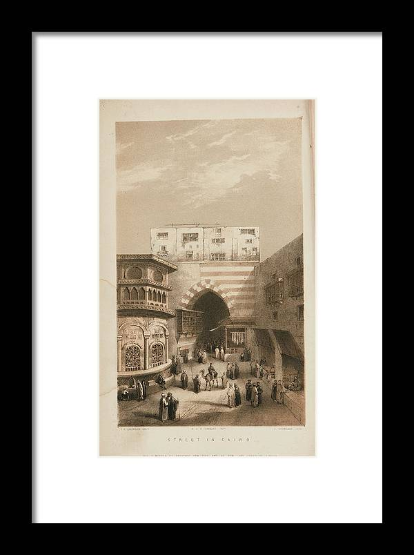 Jones Framed Print featuring the painting Selections From The Records Of The Bombay by Jones James