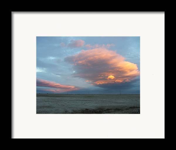 Desert Framed Print featuring the photograph Self-abandoned by Shari Chavira