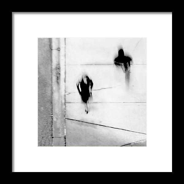 Black Framed Print featuring the photograph Self-Protection - If You Look Me In The Eye Will You See Me by Dana DiPasquale