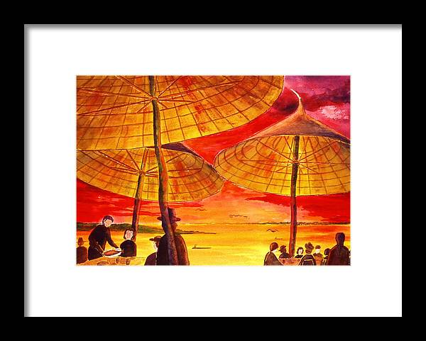 Mexico Framed Print featuring the painting Senior Wayne by Buster Dight