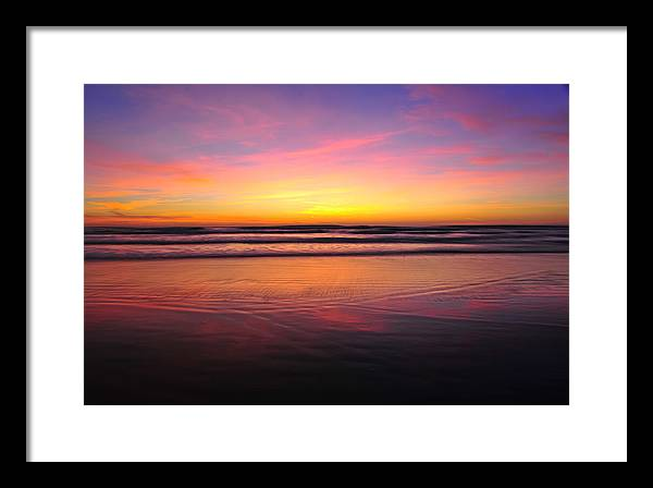Landscape Framed Print featuring the photograph Sentiment One by Daren Le