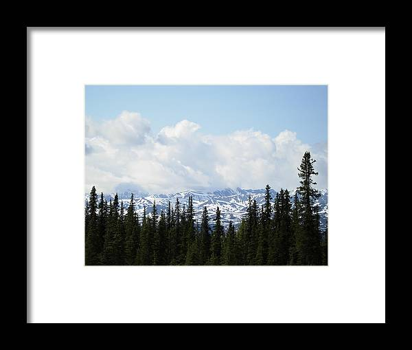Mountains Framed Print featuring the photograph Sentinels by Robert Boyette