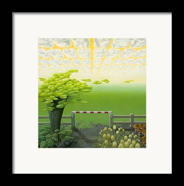 Tree Framed Print featuring the painting September by Patricia Van Lubeck