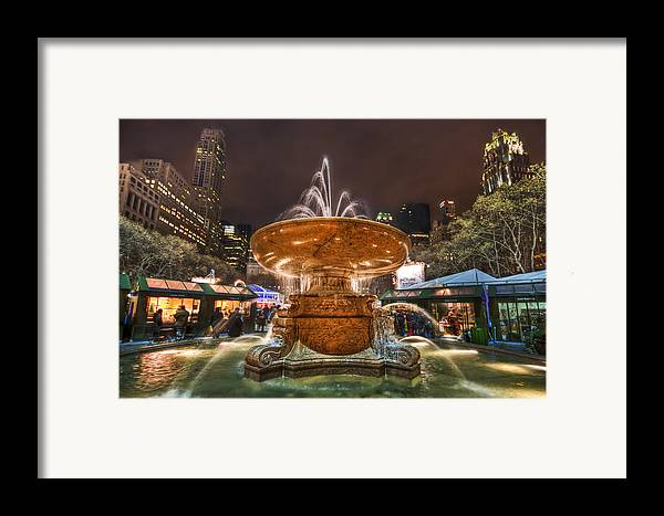 Bryant Framed Print featuring the photograph Serenade Me by Evelina Kremsdorf