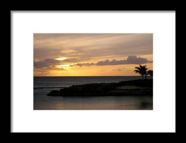 Sunset Framed Print featuring the photograph Serenity by Ashley Butler