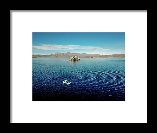 Ocean Framed Print featuring the photograph Serenity In The Sea Of Cortez by Michaela Kelly