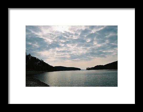 Photograph Framed Print featuring the photograph Serenity by Kicking Bear Productions