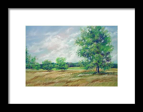 Pastel Framed Print featuring the painting Serenity by Marlene Gremillion