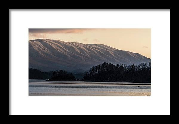 South Holston Lake Framed Print featuring the photograph Serenity On The Water by Dion Wiles