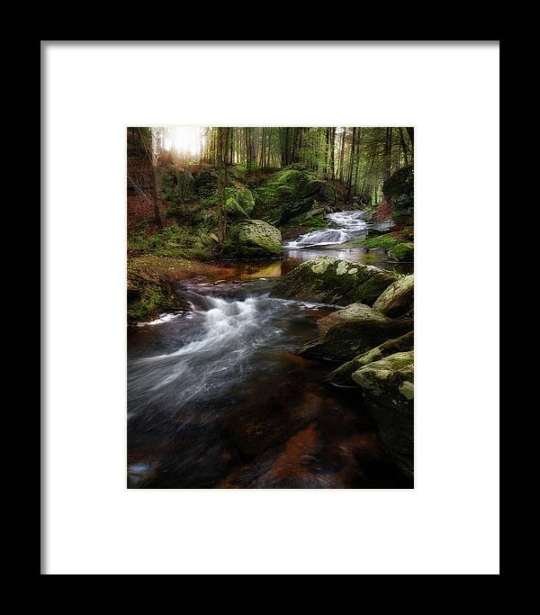 New England Framed Print featuring the photograph Serenity Sunrise by Bill Wakeley