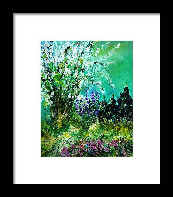 Tree Framed Print featuring the painting Seringa by Pol Ledent