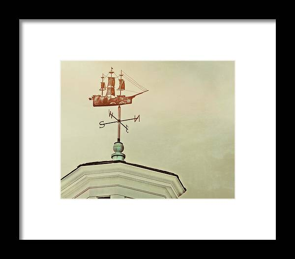 Nantucket Framed Print featuring the photograph Setting Sail by JAMART Photography