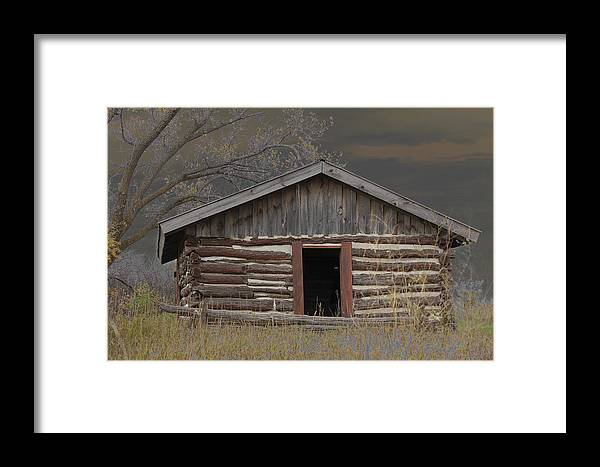 Settler Framed Print featuring the photograph Settler Cabin by Ralph Steinhauer