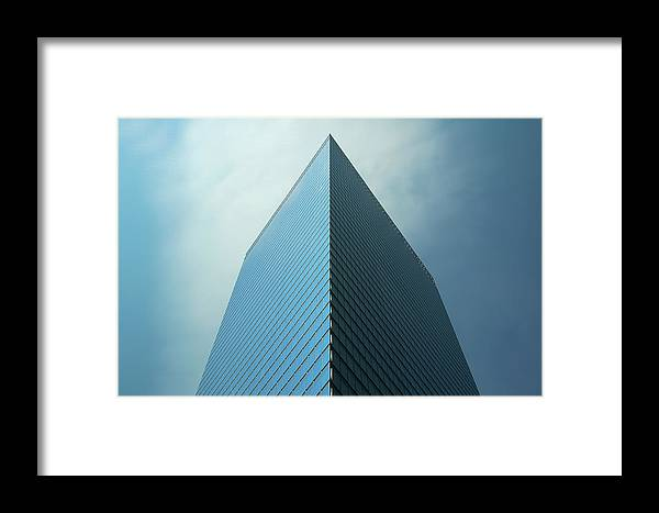 Seven World Trade Framed Print featuring the photograph Seven World Trade by Mandy Wiltse