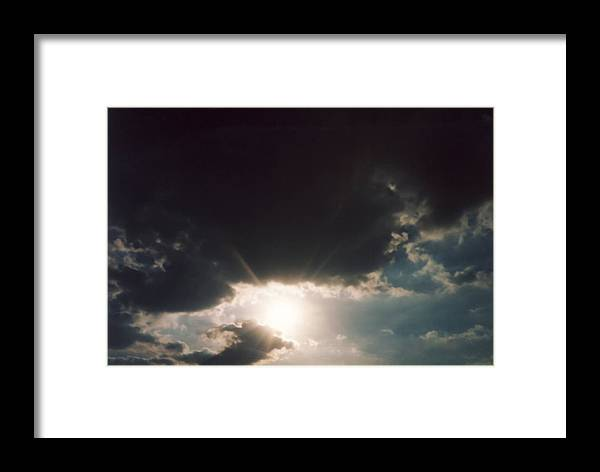 Photo Framed Print featuring the photograph Seville Ohio by Gene Linder