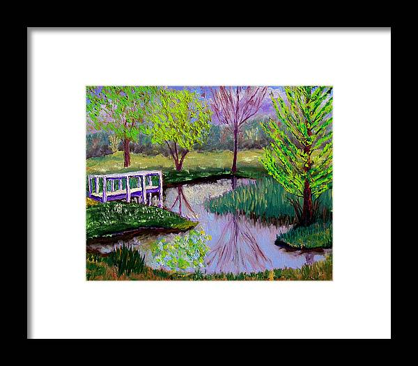 Landscape Framed Print featuring the painting Sewp 5 2 by Stan Hamilton
