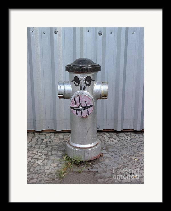 Hydrant Framed Print featuring the photograph Sexy Lips by Carlos Alvim