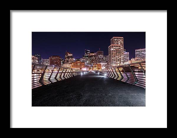 Pier Framed Print featuring the photograph Sf Pier 14 by Elizabeth Delgado