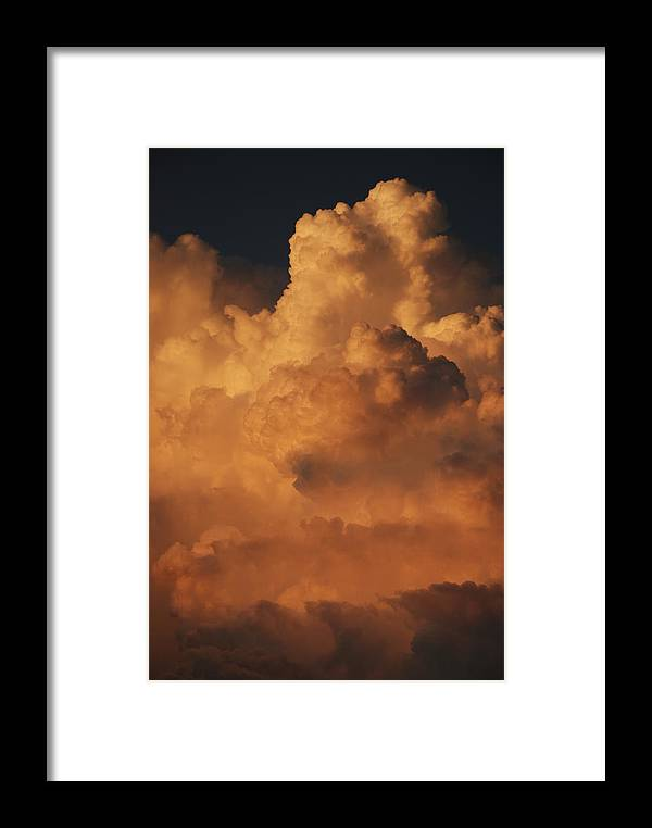 Clouds Framed Print featuring the photograph Shades Of Color by Rob Hans