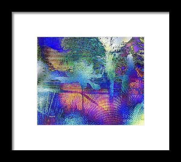 Hawaii Framed Print featuring the digital art Shades Of Sunset by Dorlea Ho