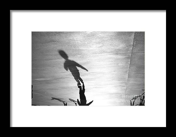 Shadow Framed Print featuring the photograph Shadow by Humberto Furtado
