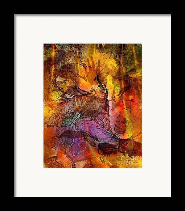 Shadow Hunters Framed Print featuring the digital art Shadow Hunters by John Beck