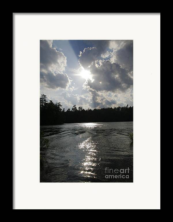 Lake Framed Print featuring the photograph Shadow Of The Sun by Joshua Francia