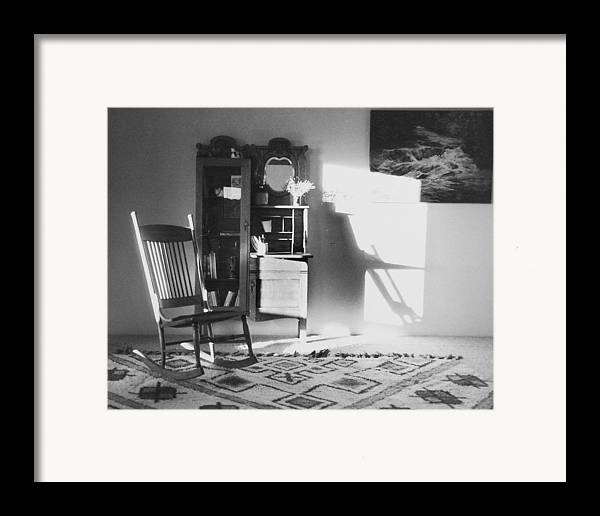 House Framed Print featuring the photograph Shadow Time by Allan McConnell