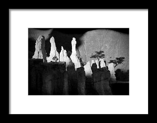 bryce Canyon Framed Print featuring the photograph Shadowland by Mike Irwin