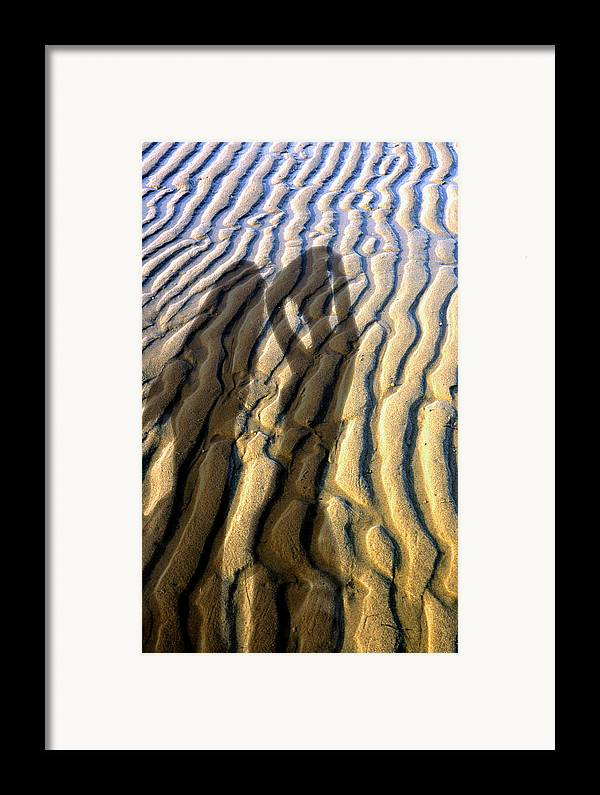 Framed Print featuring the photograph Shadows 01 by Victor Yekelchik