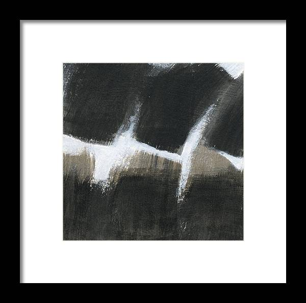 Acrylic Framed Print featuring the painting Shadows 3 by Alice Kirkpatrick