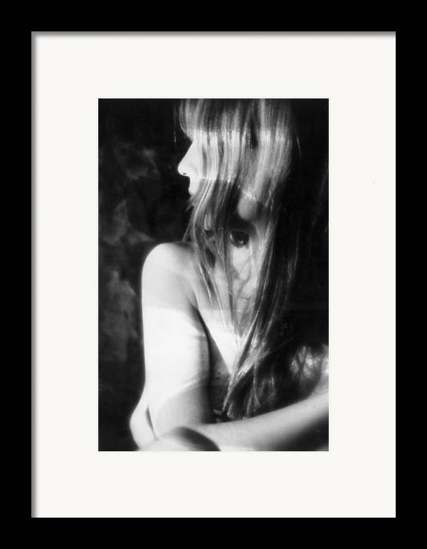 Figure Framed Print featuring the photograph Shadows Of Sight by Xavier Carter