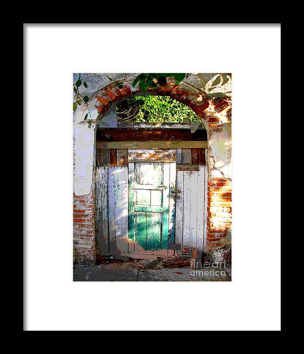 Darian Day Framed Print featuring the photograph Shaft Of Sunlight By Darian Day by Mexicolors Art Photography