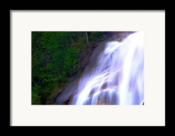 Waterfall Framed Print featuring the photograph Shannon Falls by Paul Kloschinsky
