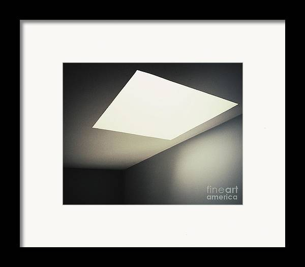 Light Framed Print featuring the photograph Shapes by Rikard Olsson