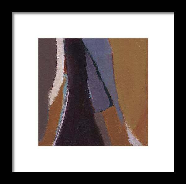 Acrylic Framed Print featuring the painting Shards 3 by Alice Kirkpatrick