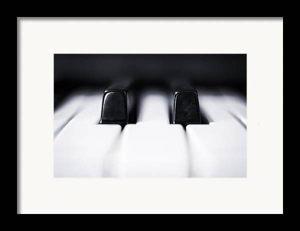 Piano Framed Print featuring the photograph Sharp Or Flat by Scott Norris