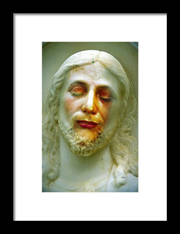 Jesus Framed Print featuring the photograph Shesus by Skip Hunt
