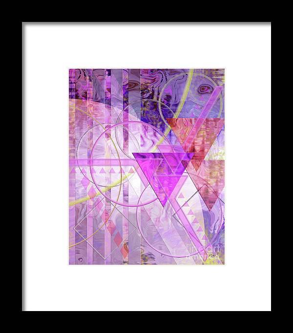 Shibumi Framed Print featuring the digital art Shibumi Spirit by John Beck