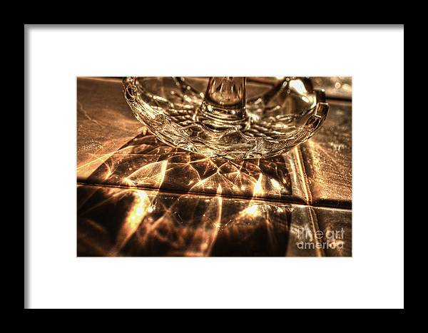 Shimmer Framed Print featuring the photograph Shimmer by Chris Fleming