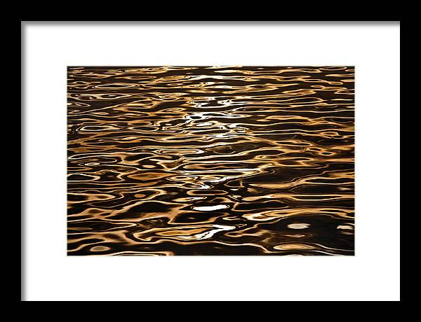 Australian Beaches Framed Print featuring the photograph Shimmering Reflections by Az Jackson
