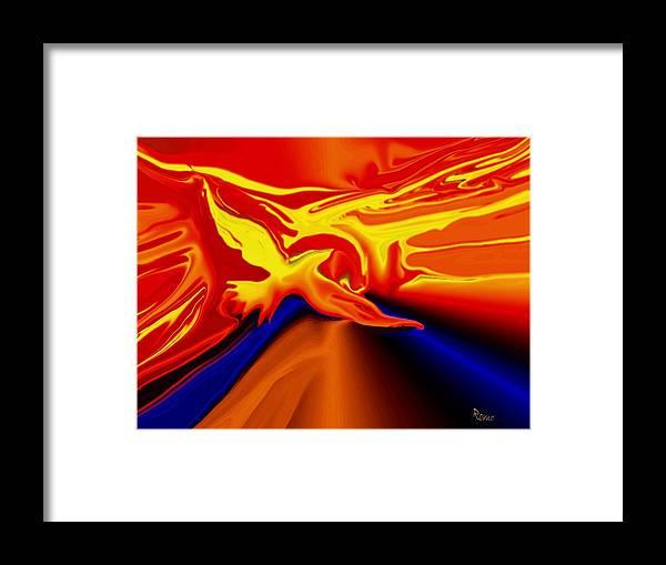 Bird Framed Print featuring the digital art Shine by Robin Monroe